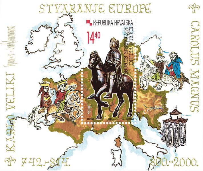 2001. year KARLO-VELIKI-STVARANJE-EUROPE-BLOK
