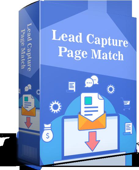 Lead Capture Page Match