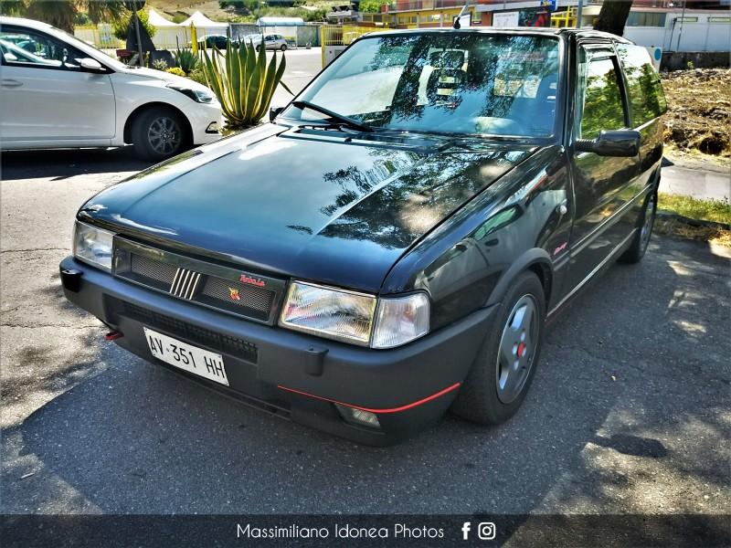avvistamenti auto storiche - Pagina 32 Fiat-Uno-Turbo-i-e-1-3-101cv-AV351-HH