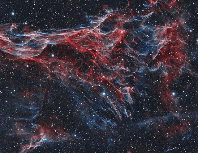 NGC-6960-Veil-Nebula-HOO-LR