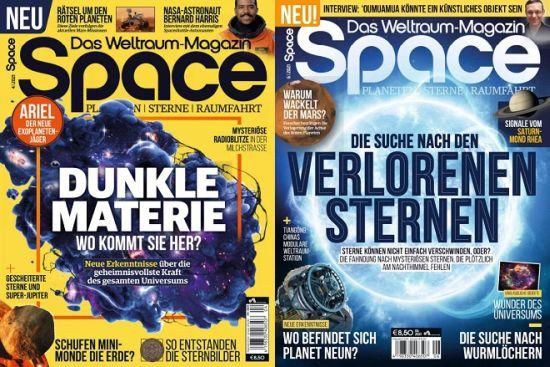 Cover: Space Das Weltraum-Magazin No 04 + 06 2021