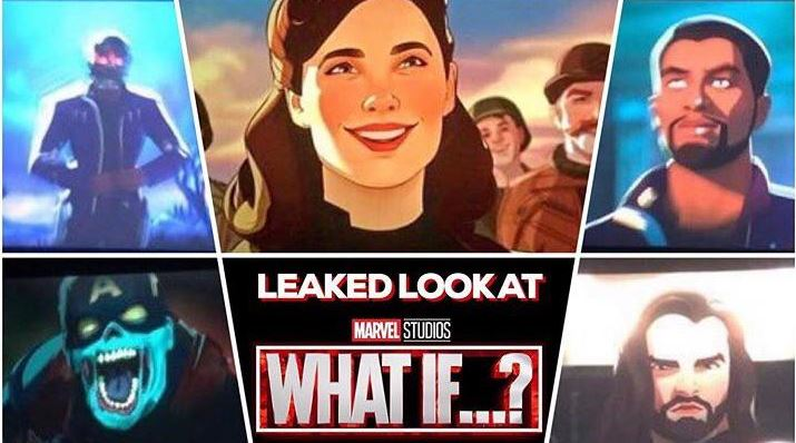 Marvel Studios What If!? Leaked Look At