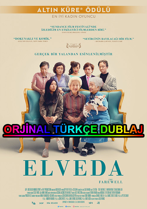 Elveda | The Farewell | 2020 | BDRip | XviD | Türkçe Dublaj | m720p - m1080p | BluRay | Dual | TR-EN | Tek Link