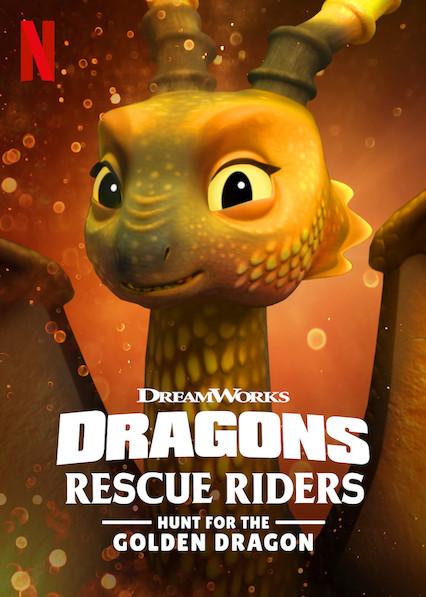 Dragões: Equipe de Resgate Em Busca do Dragão Dourado 2020 - Dual Áudio / Dublado WEB-DL 1080p