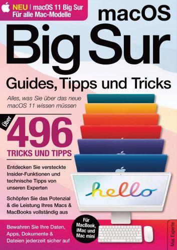 Cover: Mac Os Magazin Guides Tipps und Tricks No 01 2021