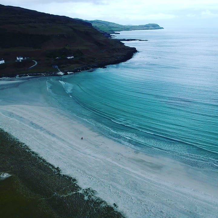 Calgary Bay, one of Scotland's best beaches