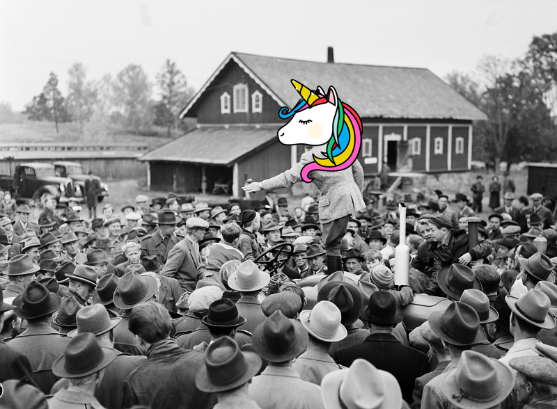 Unicorn auction!