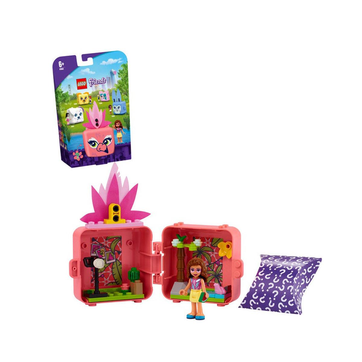 ლეგოს კუბიკები Olivia's Flamingo Cube LEGO 188013