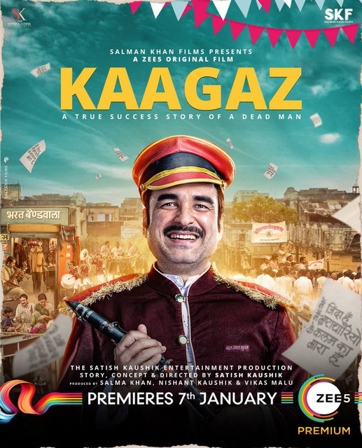 Kaagaz (2021) Hindi Movie 720p HDRip AAC