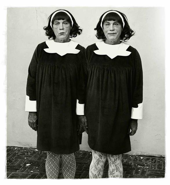 SANDRO MILER Diane Arbus Identical Twins Roselle New Jersey 1967 2014.jpg