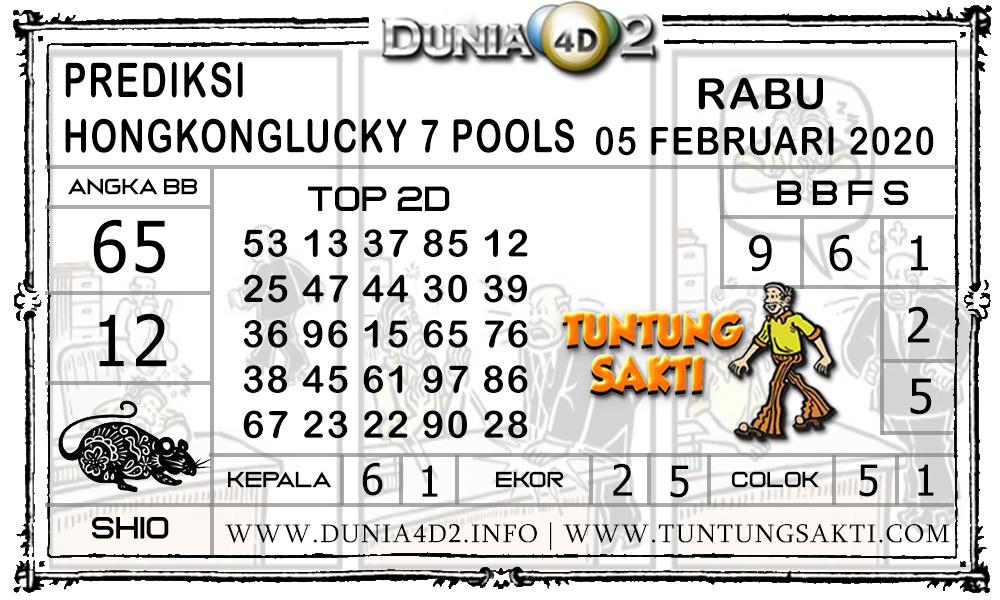 Prediksi Togel HONGKONG LUCKY7 DUNIA4D2 05 FEBRUARI 2020