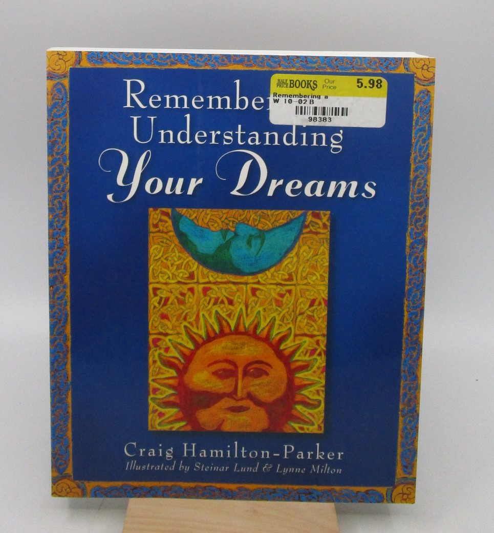 Image for Remembering & Understanding Your Dreams for Costco/Indigo (First Edition)