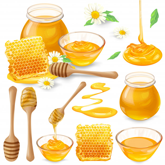 set-vector-illustrations-honey-honeycombs-jar-dripping-from-honey-dipper-1441-737