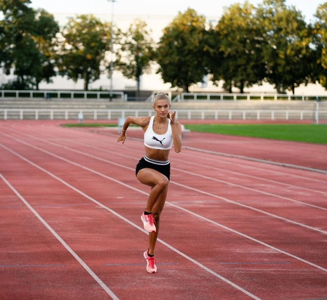 Немецкая бегунья Алиса Шмидт признана самой сексуальной спортсменкой мира