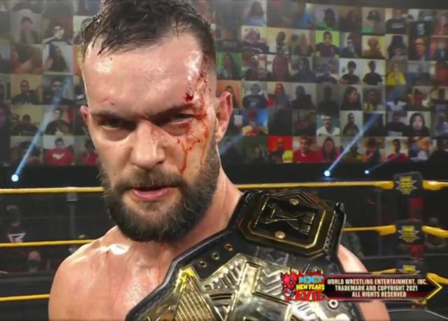 Finn Bálor derroto a Kyle O'Reilly por rendición en NXT New Year's Evil