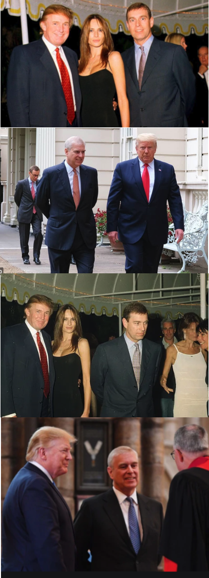 Friend of Pedophiles Donald Trump Said He Doesnt Know Prince Andrew