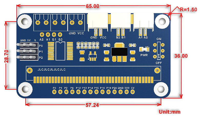 Motor-Driver-for-micro-bit-size