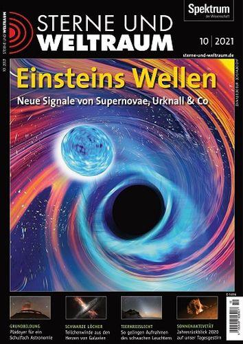 Cover: Sterne und Weltraum Magazin No 10 Oktober 2021