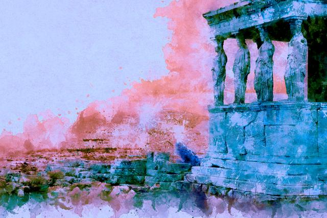 the erechtheion on the acropolis