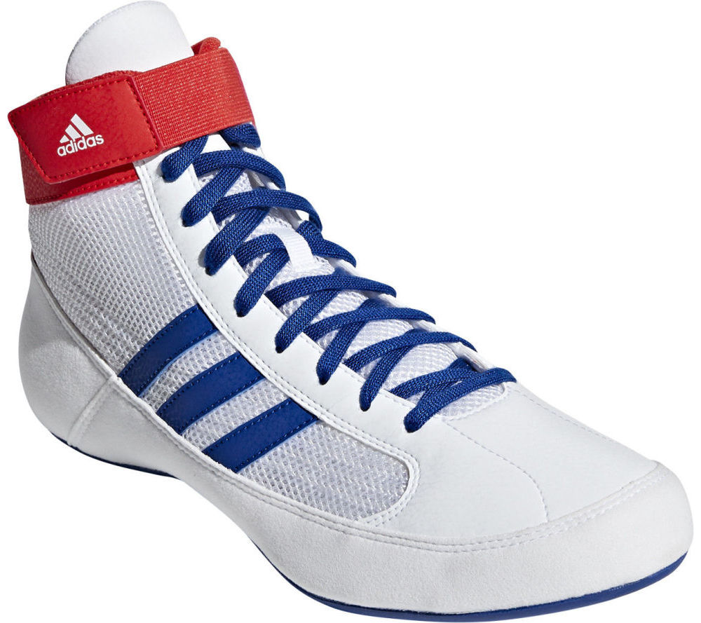 Борцовки Adidas HVC белые Оригинал Универсальные