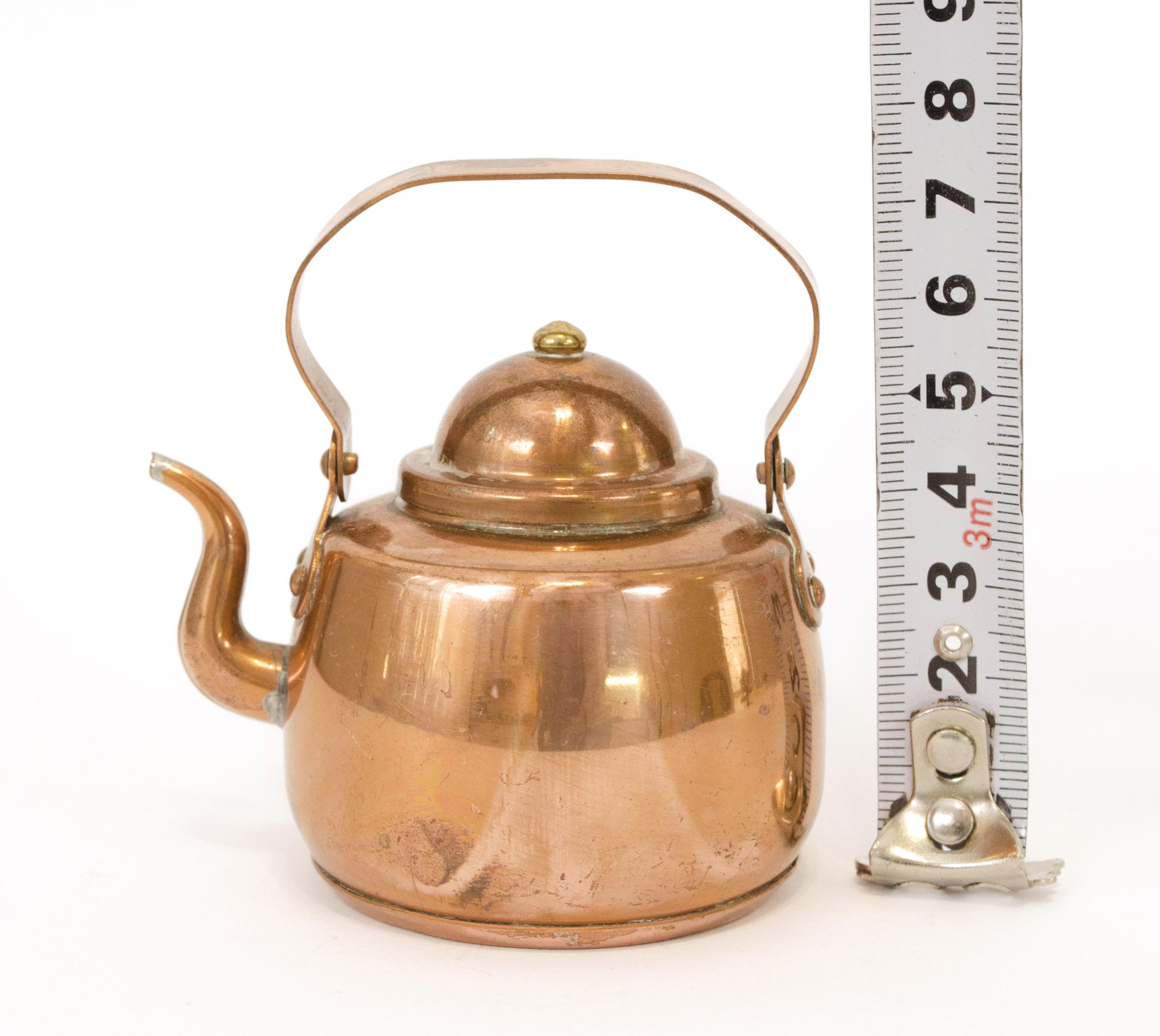 медный чайник, миниатюра