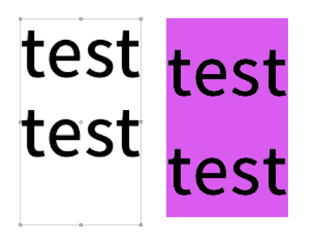 Noto Sans CJK OTF font padding is quite different by