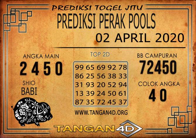 PREDIKSI TOGEL PERAK TANGAN4D 02 APRIL 2020