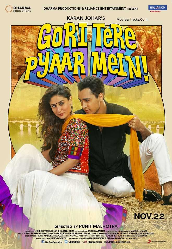 Gori Tere Pyar Mein (2013) Hindi 480p WEB-DL x264 AAC 400MB ESub