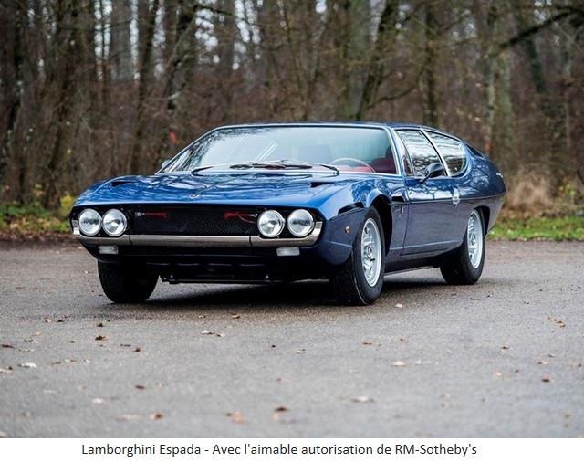 Lamborghini Miura SV et Countach LP 400 «Periscopio» atteignent des prix records à la vente RM Sotheby's Paris 579671-v2