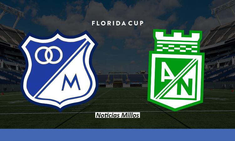 Millonarios Nacional Florida Cup