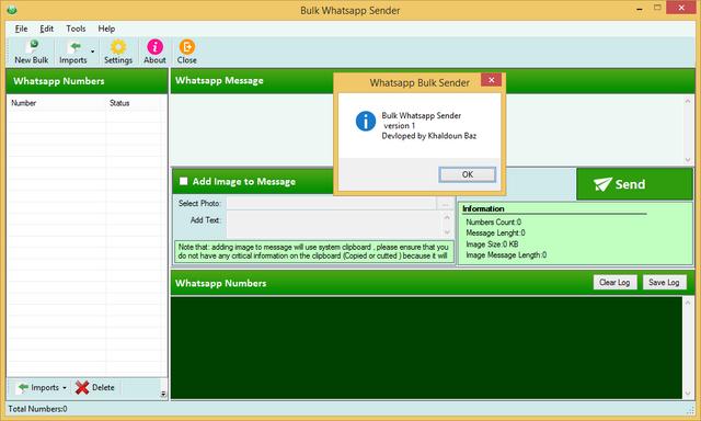 Whatsapp Bulk Sender Source Code