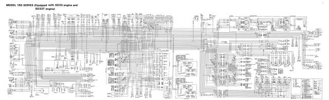 1985 21 Model 160 SD33 T Diagram