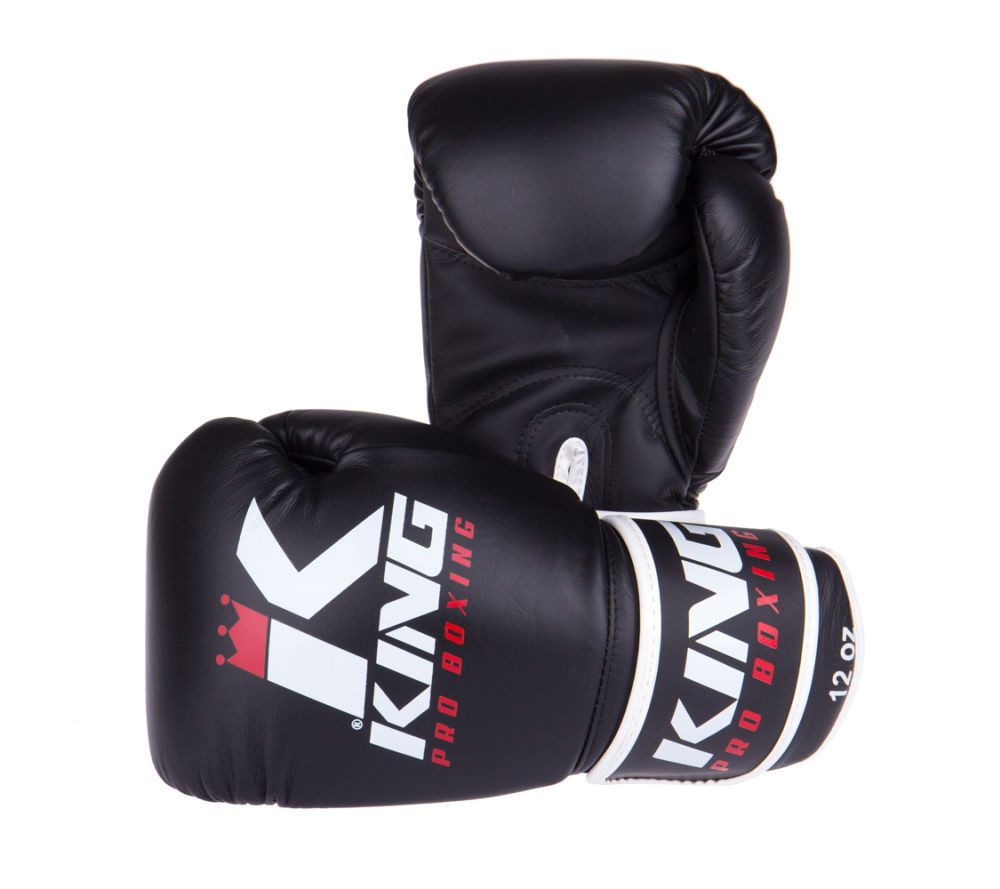 Боксерские перчатки Boxing Gloves King КОЖА ( Таиланд )