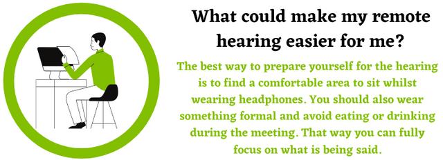 Remote hearings help