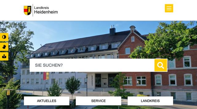 Webseite www.landkreis-heidenheim.de