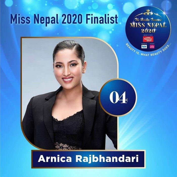CANDIDATAS A MISS NEPAL 2020. FINAL 3 DE DICIEMBRE. 4-4