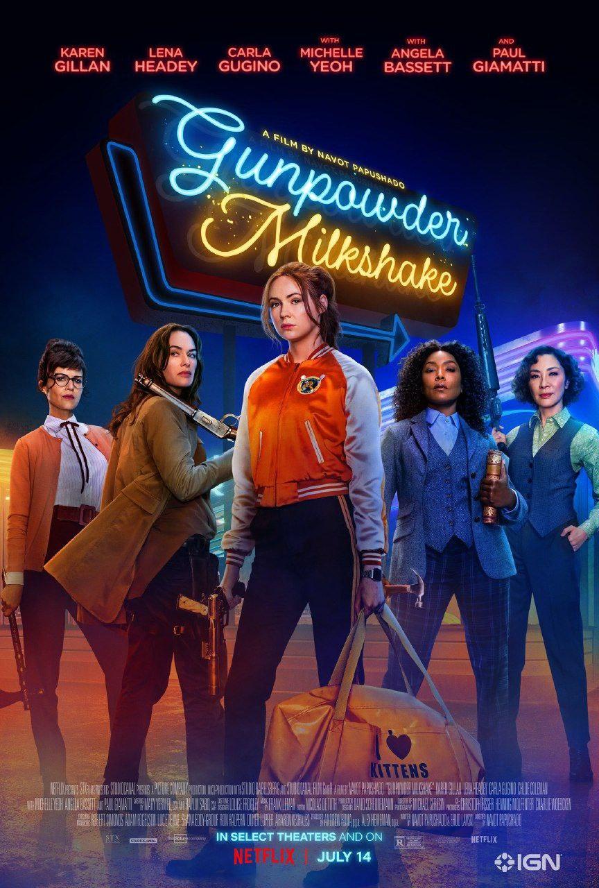Gunpowder Milkshake   2021   English   1080p   720p   WEB-DL