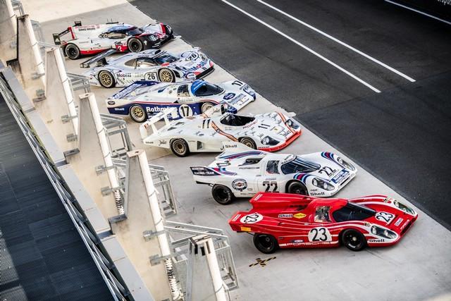 Porsche réuni six prototypes vainqueurs au classement général au Mans S20-4221-fine
