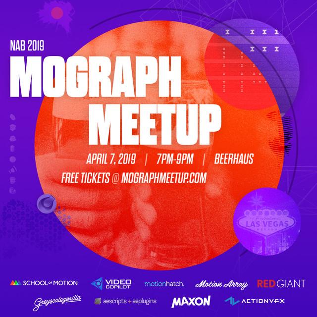 2019 NAB MoGraph Meetup