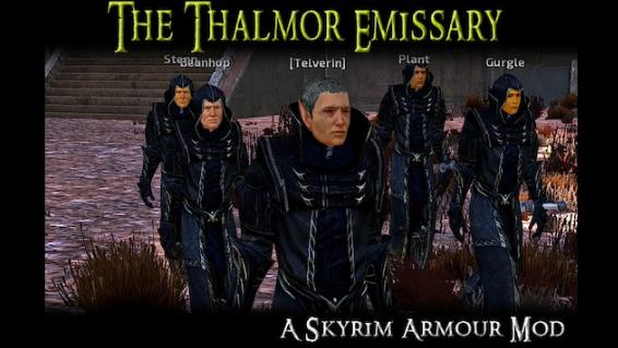 The Thalmor Emissary - Another Skyrim Armour Mod