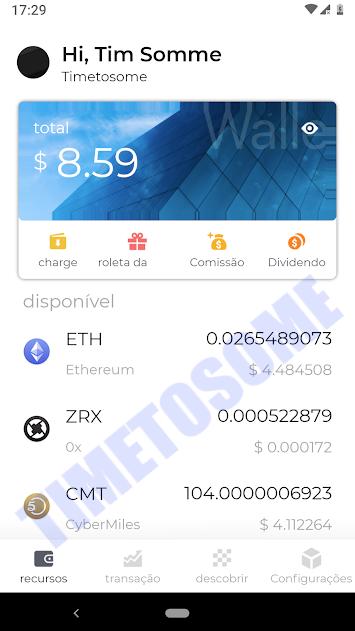 OPORTUNIDADE [Provado] ByteHuB - Nova carteira com Criptomoedas Gratis - Android - (Actualizado em Julho de 2019) Lasttim