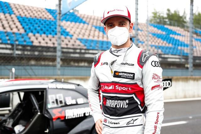 DTM – René Rast remporte le podium Audi au Lausitzring A204831-medium