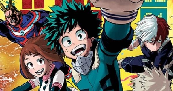 Boku no Hero Academia manga