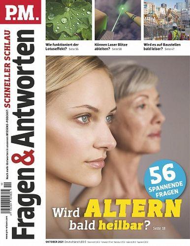 Cover: P M  Fragen und Antworten Magazin No 10 Oktober 2021