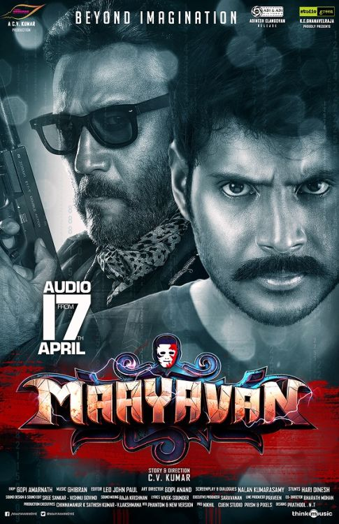 Maayavan (2019) Full Hindi Dubbed Movie HDRip 720p