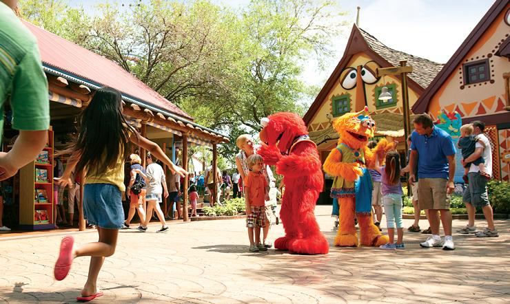 Busch Gardens special events- Sesame Street