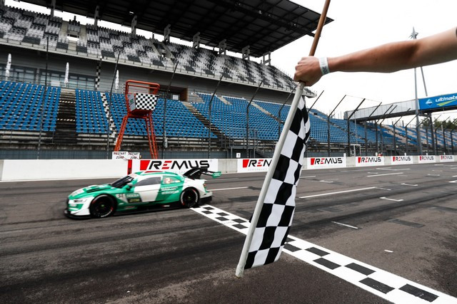 DTM – René Rast remporte le podium Audi au Lausitzring A204836-medium