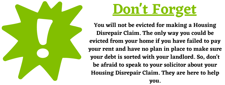 House Eviction for disrepairs