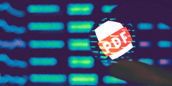 Malicious PDFs Flood the Web, Lead to password-stealing, credential-snarfing malware…