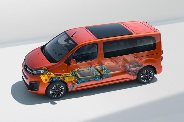 De l'électricité dans l'air : l'Opel Zafira-e Life tout électrique en vente à partir de 51 500 euros bonus environnemental déduit Opel-Zafira-e-512249